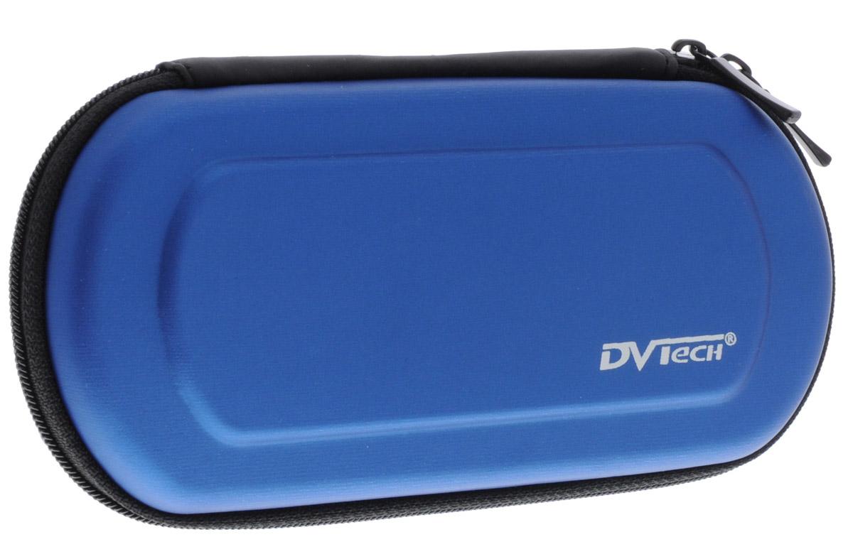 DVTech AC 488 сумка для PSP (синий)6930149884886С сумкой DVTech AC488 ваша игровая консоль всегда будет отлично защищена от повреждений и загрязнений. Сумка обеспечивает хорошую защиту в сочетании с компактными размерами. Дополнительные внутренние кармашки для UMD-дисков и карт памяти будут очень полезными. Аксессуар подходит для использования с моделями PSP Slim & Lite 200x, 300x и Е100х.
