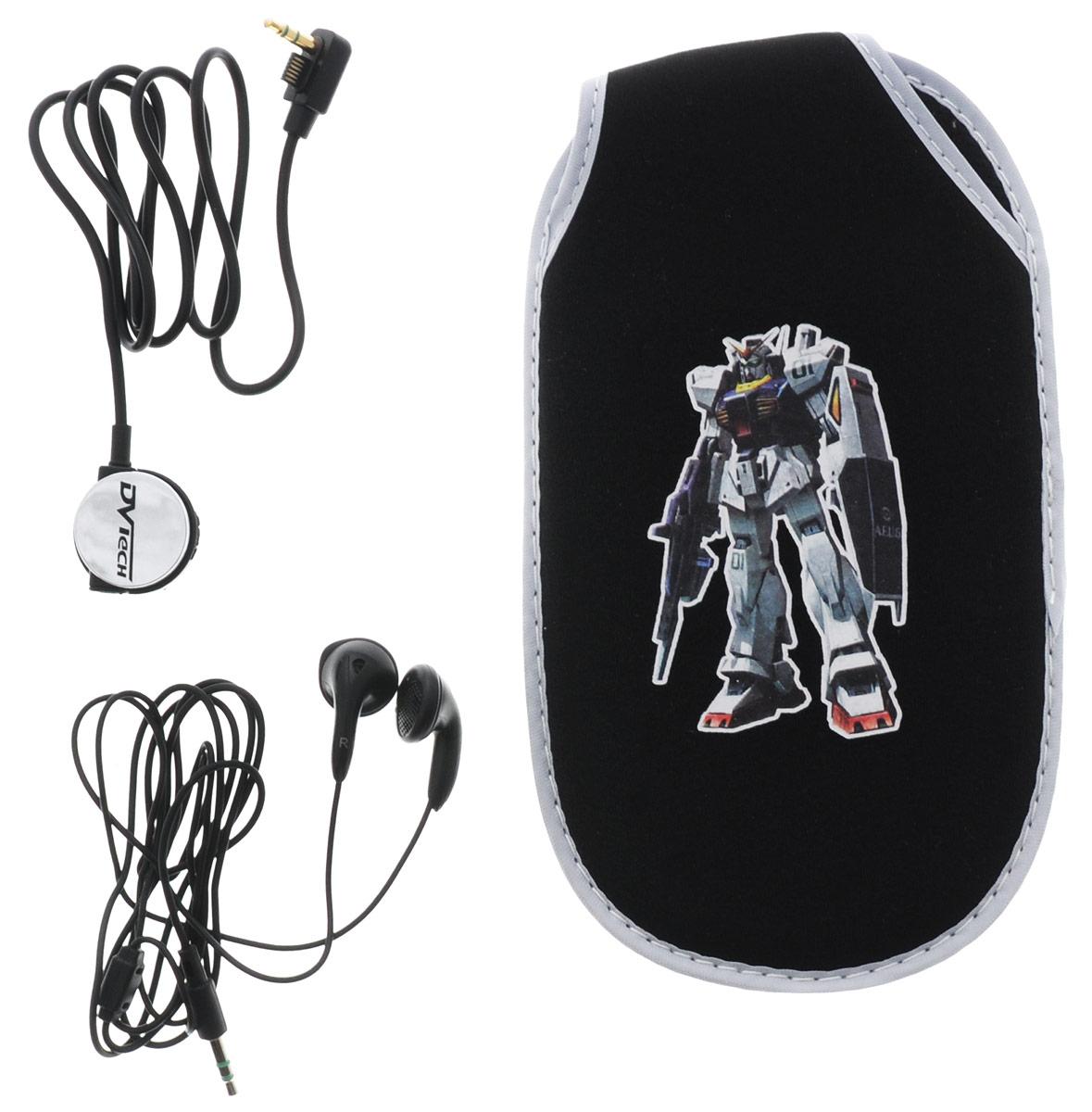 DVTech AC495 комплект аксессуаров для PSP Slim 3 в 14601250884950В комплект DVTech AC495 входят стереонаушники, которые комплектуются компактным пультом управления и клипсой для крепления на одежду. Мягкий чехол с кнопкой обеспечивает надежную защиту от царапин, внешних повреждений и загрязнений. С помощью защитной пленки, вы обеспечите сохранность экрана PSP от отпечатков пальцев, пыли и прочих неблагоприятных факторов.