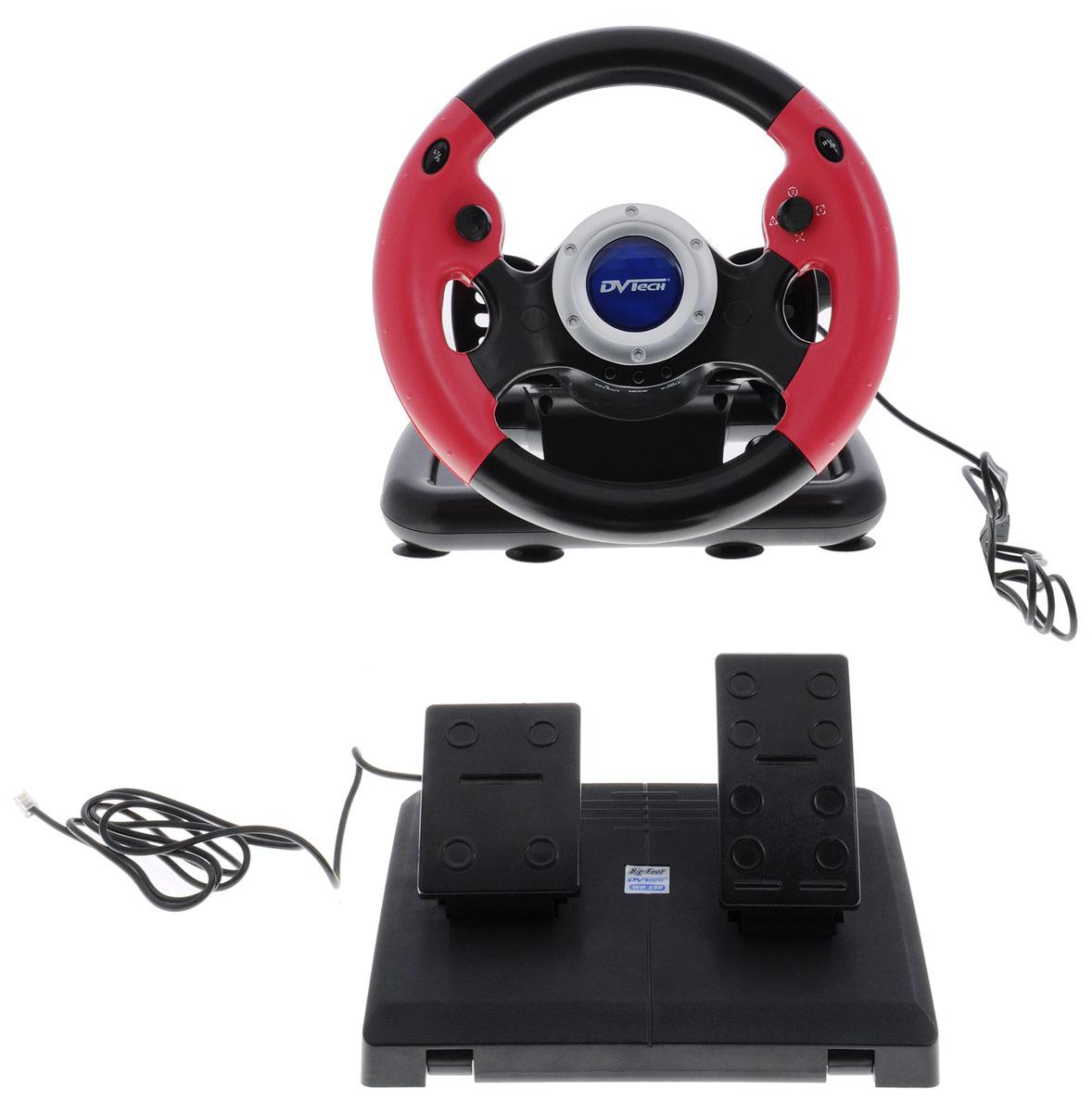 DVTech WD198 Big Foot руль для PC 6930149911988