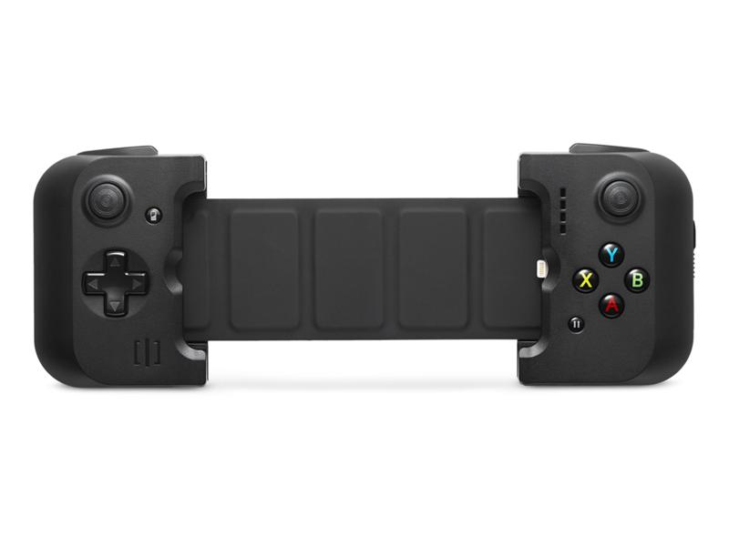 Gamevice GV156 игровой контроллер для Apple iPhone 6/6 Plus/6s/6s PlusGV156Компания Wikipad является первопроходцем в области создания игровых контроллеров со своей новинкой Gamevice GV156 – геймпадом, своеобразным доком для iPhone, который добавляет к смартфону физические кнопки для управления в играх. Игровой контроллер Gamevice GV156 для iPhone, в отличие от многих других геймпадов, для подключения к смартфону использует не беспроводной Bluetooth, а интерфейс Lightning. Благодаря уникальной разборной конструкции он совместим как с 4.7-дюймовыми iPhone 6 и iPhone 6s, так и с 5.5-дюймовыми iPhone 6 Plus и iPhone 6s Plus. Контроллер имеет встроенный литий-полимерный аккумулятор на 400 мАч с индикатором уровня зарядки и состояния из четырёх светодиодов. Контроллер Gamevice GV156 имеет стандартный набор кнопок, включая два традиционных джойстика, четыре кнопки (A, B, X и Y), кнопки R1, R2, L1 и L2, а также кнопку паузы. Он также позволяет подключить к iPhone наушники через 3.5-миллиметровый разъём. Сам Gamevice заряжается...