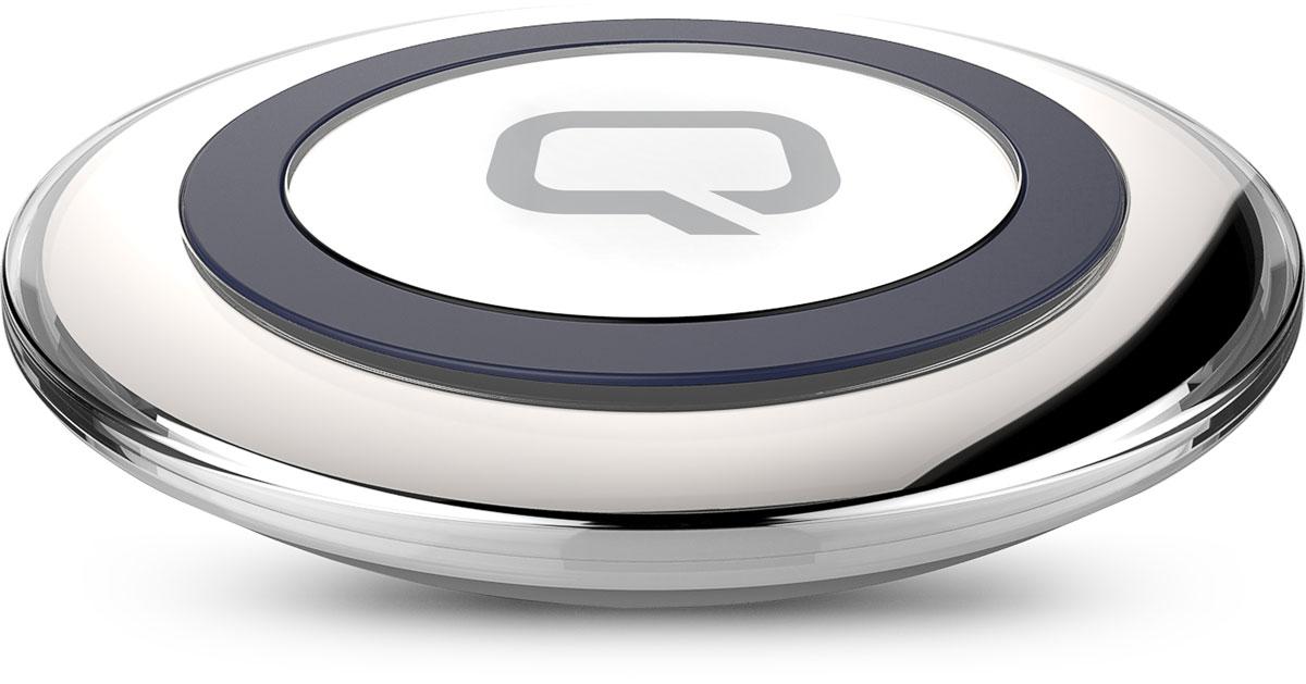 QUMO PowerAid Qi Table Charger беспроводное зарядное устройство20764Беспроводное зарядное устройство QUMO PowerAid Qi Table Charger полностью соответствует спецификации Qi, что гарантирует вам стабильную и безопасную зарядку смартфонов, поддерживающих эту технологию (Qi) или оснащенных переходником-ресивером QUMO PowerAid Qi Micro USB Reciever.