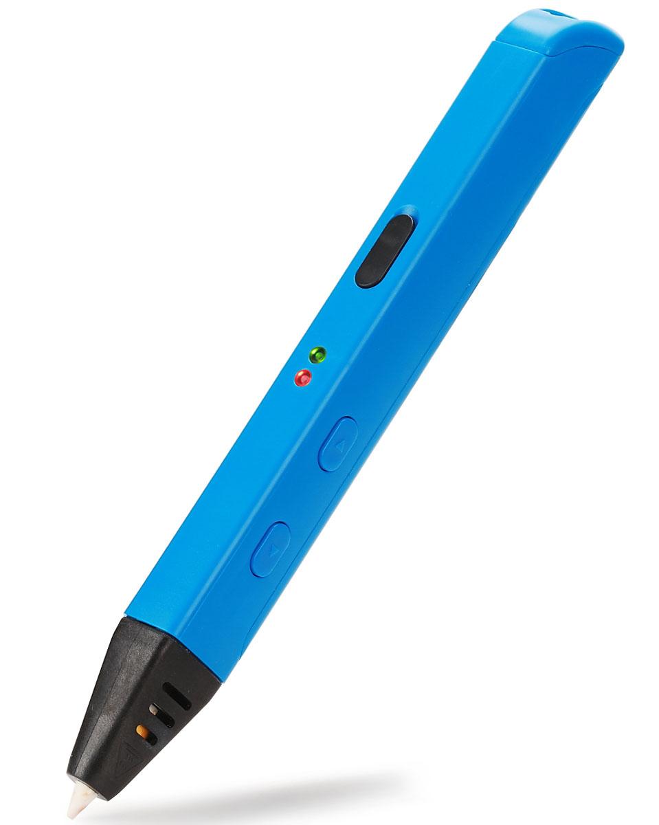 Myriwell RP600A, Light Blue 3D ручкаRP600ABРучкой Myriwell RP600A очень приятно работать, ее дизайн и удобство по достоинству оценят творческие люди. Основными функциональными кнопками пользоваться удобно, они достаточно крупные. Само же устройство адаптировано для работы как левшей, так и правшей, и, конечно, работать комфортно и под указательный, и под большой палец. 3D-ручка Myriwell RP600A наделена функцией, именуемой в 3D принтерах RETRACT. Как только прекращается подача пластика, мотор тянет обратно ниточку лишнего пластика, и теперь он не вытекает из сопла. Больше не придется удалять излишек материала и качество изделия не пострадает! 3D-ручка Myriwell RP600A успешно работает и от USB-устройств, и от сети, только необходимо учитывать силу тока, которая должна соответствовать 2 Амперам, в противном случае ручка хоть и включится, но нагреваться не будет. Для изменения рабочей температуры 3D-ручки RP600A, нужно снять серую резиновую заглушку и отрегулировать температуру. Повернув...