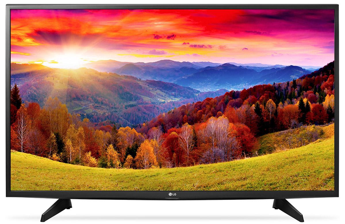 LG 43LH513V телевизор43LH513VНовый графический процессор телевизора LG 43LH513V отвечает за качество цветопередачи, уровень контрастности и чёткость изображения. Вы также сможете бесплатно наслаждаться встроенными играми с LG GAME TV.Система точной настройки Picture Wizard III позволяет вам быстро отрегулировать глубину чёрного, цветовую гамму, чёткость изображения и уровень яркости. Испытайте эффект объёмного звучания с алгоритмом кинотеатрального распределения звуковой волны! Автоматическая система подавления шумов и усиления звучания голоса направлена на отделение основных звуков от фона, что помогает чётко слышать речь актёров и телеведущих.