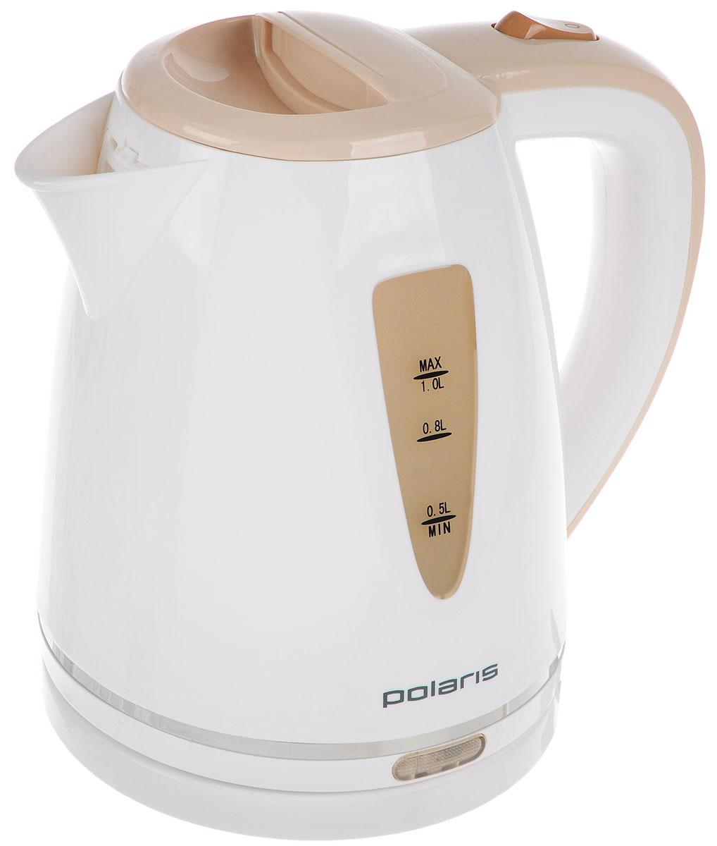 Polaris PWK 1038C, White Beige электрический чайник