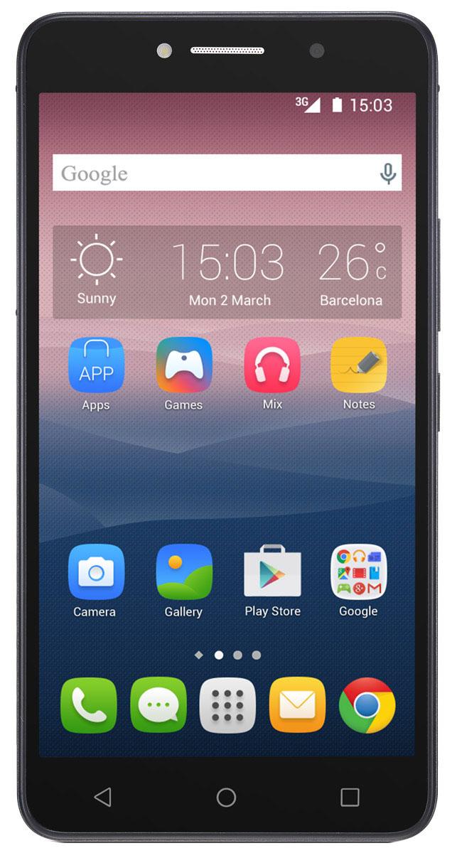 Alcatel OT-8050D Pixi 4 (6.0), Black