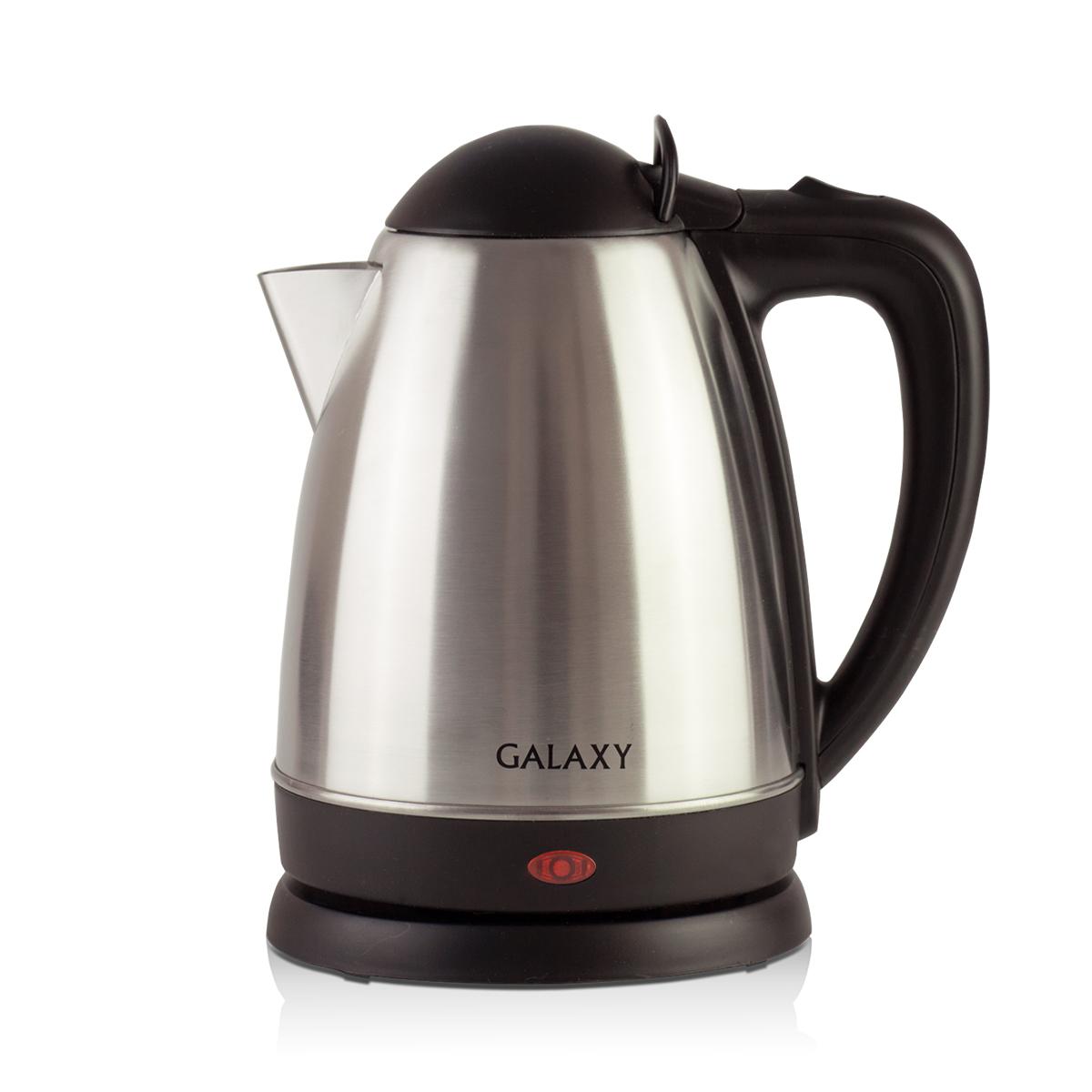 Galaxy GL 0316, Silver чайник электрический4650067301952Металлический чайник Galaxy GL 0316 изготавливается из стали марки 18/10, именуемой медицинской или хирургической. Такое название она получила не случайно, ведь именно из этой марки стали изготавливаются медицинские и хирургические инструменты. Это обусловлено тем, что сталь 18/10 экологически безопасна, имеет высокую плотность и твердость, устойчива к коррозии, а также к воздействию кислот и щелочей, в том числе при высоких температурах. Galaxy Galaxy GL 0316 - это мощная (2000 Вт) модель объемом 1,8 л. С помощью этого чайника вы сможете приготовить чай на большую компанию за считанные минуты. Вращающийся корпус сделает использование чайника еще более удобным, а фильтр избавит от попадания накипи в чашку.