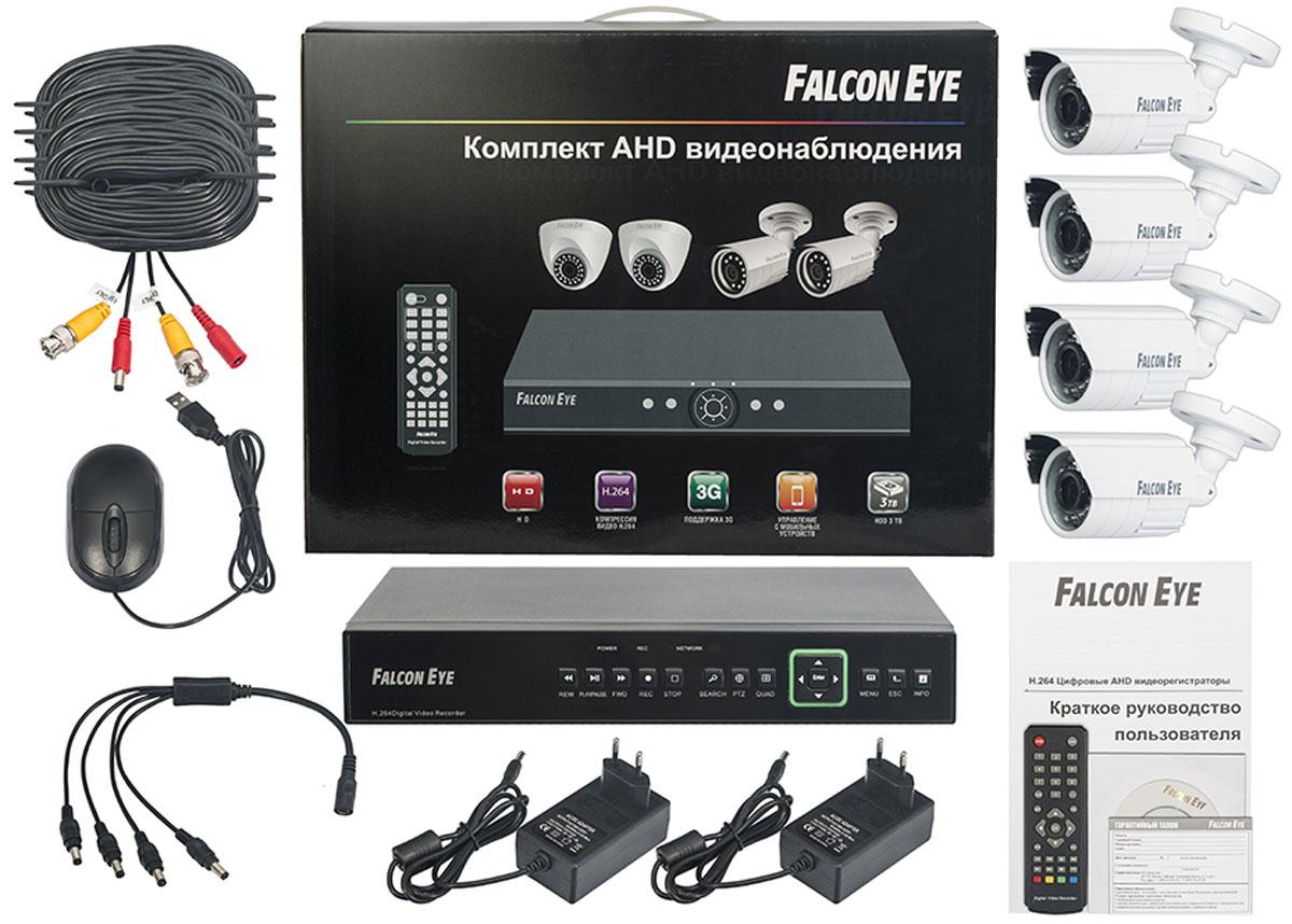 Falcon Eye FE-0104AHD Kit Защита комплект видеонаблюдения