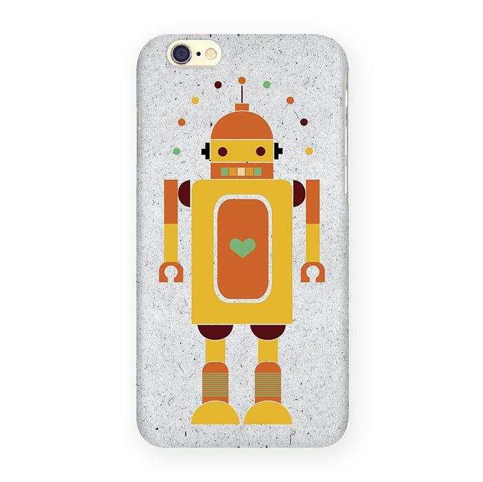 Mitya Veselkov Влюбленный робот чехол для Apple iPhone 6/6sIP6.МITYA-058Оденьте свой любимый iPhone! Чехол Mitya Veselkov для iPhone 6/6s не просто средство защиты от царапин и внешних повреждений, но и модный аксессуар, который сделает ваш образ завершенным. Это стильная и элегантная деталь вашего образа, которая всегда обращает на себя внимание среди множества вещей.