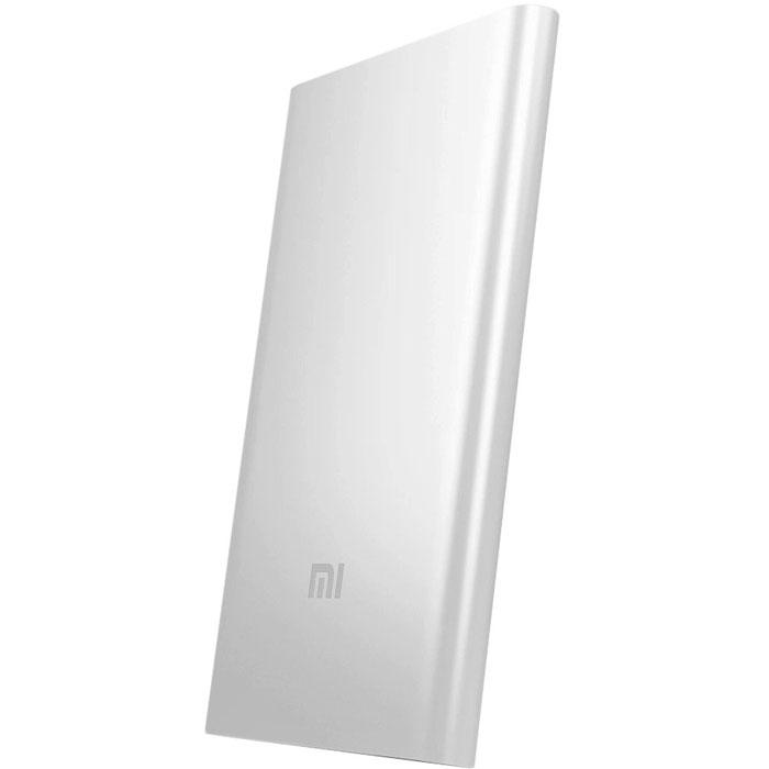 Xiaomi Power Bank, Silver внешний аккумулятор (5000 мАч)