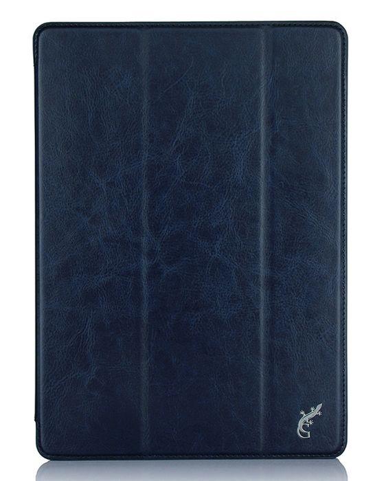 G-case Slim Premium чехол для iPad Pro 9.7, Dark BlueGG-721Защитный чехол G-Case Slim Premium для планшета iPad Pro 9,7 отличается высокой степенью защиты от попадания влаги и пыли, а также падений и механических ударов. Среди конструктивных особенностей защитного чехла G-case можно отметить наличие двухпозиционной подставки, благодаря которой устройство можно установить в нескольких положениях для удобства пользования. Чехол имеет свободный доступ ко всем разъемам и кнопкам устройства.