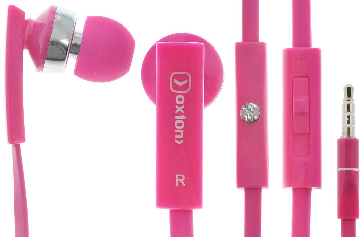 Oxion HS205, Pink гарнитураOX-HS205PKПроводная стереогарнитура Oxion HS205 со вставными наушниками. Обладает плоским проводом, на котором находится регулятор громкости, кнопка ответа и высокочувствительный микрофон. Легкая и комфортная в применении. Инновационный дизайн и превосходное звучание.