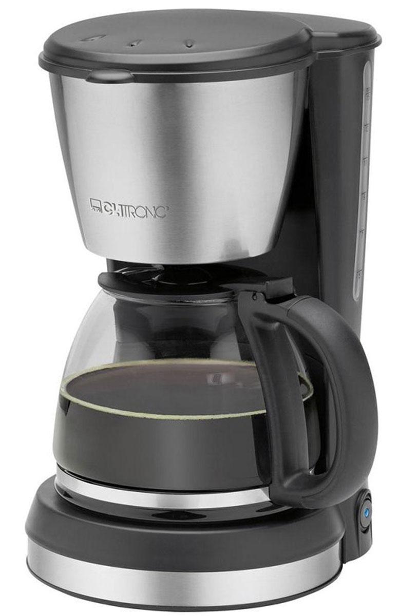 Clatronic KA 3562, Black Silver кофеварка