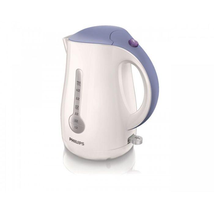 Philips HD 4677/40HD4677/40Катушка для удобного хранения шнураШнур оборачивается вокруг основания, что позволяет легко разместить чайник на кухне. Плоский нагревательный элемент для быстрого кипяченияВстроенный нагревательный элемент из нержавеющей стали обеспечивает быстрое кипячение и простую очистку. Четырехкомпонентная система безопасностиЧетырехкомпонентная система безопасности для предотвращения короткого замыкания и выкипания воды с функцией автовыключения после закипания воды или снятия с основания. Фильтр от накипи обеспечивает чистоту воды и чайника. Беспроводная подставка с поворотом на 360 ° для удобства использования. Широко открывающаяся откидная крышка для удобного наполнения и очистки исключает контакт с паром. Индикаторы уровня воды по обеим сторонам электрического чайника Philips будут удобны и для правшей, и для левшей. Наполнить чайник можно через носик, или открыв крышку.