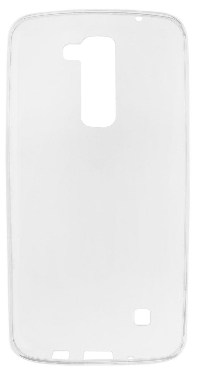 Red Line iBox Crystal чехол для LG K10, ClearУТ000008734Практичный и тонкий силиконовый чехол Red Line iBox Crystal для LG K10 защищает телефон от царапин, ударов и других повреждений. Чехол изготовлен из высококачественного материала, плотно облегает смартфон и имеет все необходимые технологические отверстия, соответствующие модели телефона. Силиконовый чехол iBox Crystal долгое время сохраняет свою первоначальную форму и не растягивается на смартфоне.