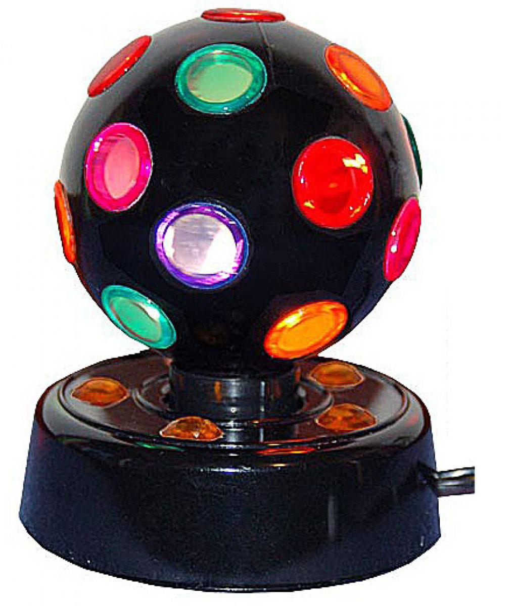 Дискошар средний Эврика D-14 см, Н-20 см92696Диско-светильник средний. Предназначен для использования преимущественно в затемненных помещениях. При включении в сеть, начинает вращаться шар, а по комнате бегают разноцветные солнечные зайчики. Диско шар создаст в вашей комнате атмосферу DISCO и любую вечеринку сделает веселой и интересной!