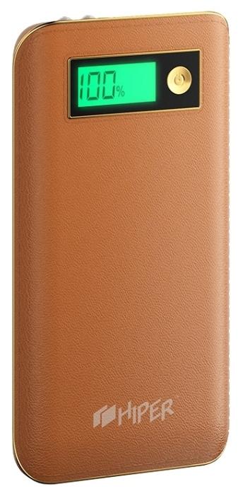Внешний аккумулятор Hiper Power Bank XPX6500, Brown (6500 мАч)