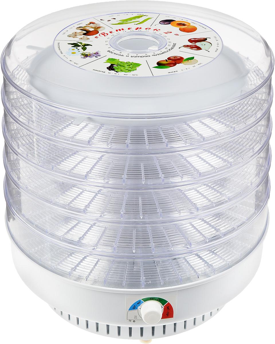 Ветерок-2, Clear сушилка для овощей и фруктовЭСОФ-0.6/220Электросушитель Ветерок-2 предназначен для высушивания овощей, фруктов, ягод, грибов и лекарственных трав в домашних условиях. Можно также вялить мясо, рыбу, готовить сухари, домашнюю лапшу.