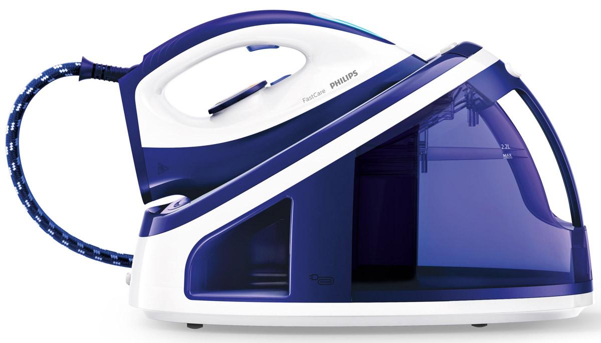 Philips GC7703/20, White Blue парогенератор