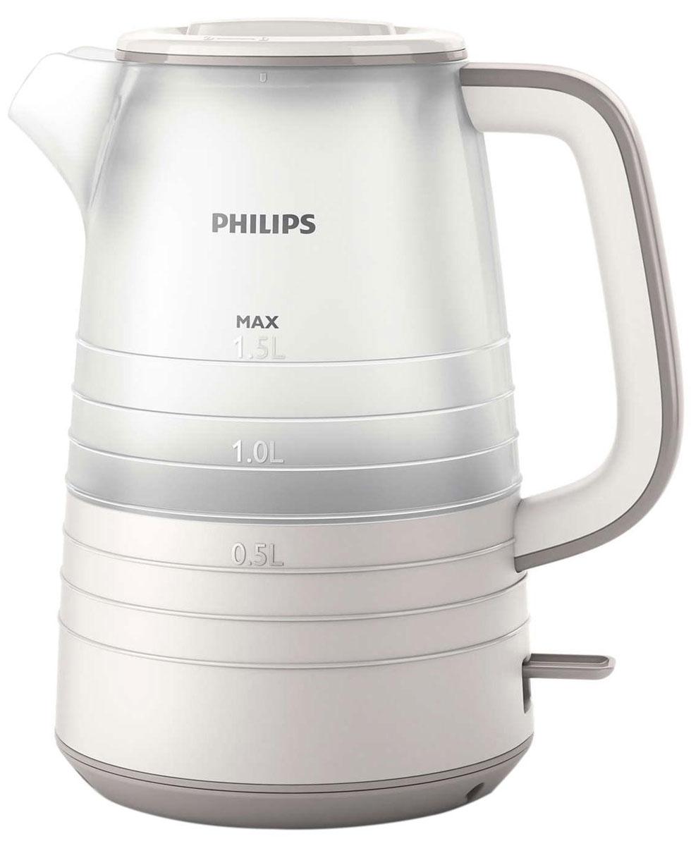 Philips HD9336/21 электрический чайникHD9336/21Благодаря тщательно продуманному дизайну уровень воды в чайнике просматривается под любым углом. Кроме того, микрофильтр эффективно фильтрует воду, удерживая известковые отложения. Надежное и эффективное кипячение воды и долгий срок службы. Понятный индикатор уровня воды просматривается с любой стороны благодаря прозрачному корпусу. Уровень воды обозначается с помощью стильных полосок с указанием количества чашек. Особый дизайн крышки, ручки и переключателя предотвращает образование конденсата и контакт с паром. Съемный микрофильтр в носике удерживает все частицы накипи размером > 180 микрон, чтобы вода всегда была чистой. Комплексная система безопасности для предотвращения короткого замыкания и выкипания воды. Функция автовыключения активируется, когда процесс завершается или прибор снимается с основания. Шнур оборачивается вокруг основания, что позволяет легко разместить чайник на кухне. Встроенный нагревательный...