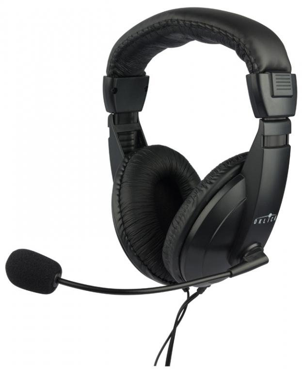 Наушники с микрофоном Oklick HS-M137V, Black