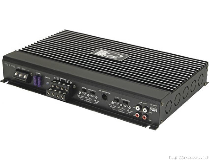 Усилитель автомобильный Kicx RTS 4.100RTS 4.100