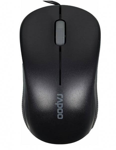 Мышь Rapoo N1130, Black 13742