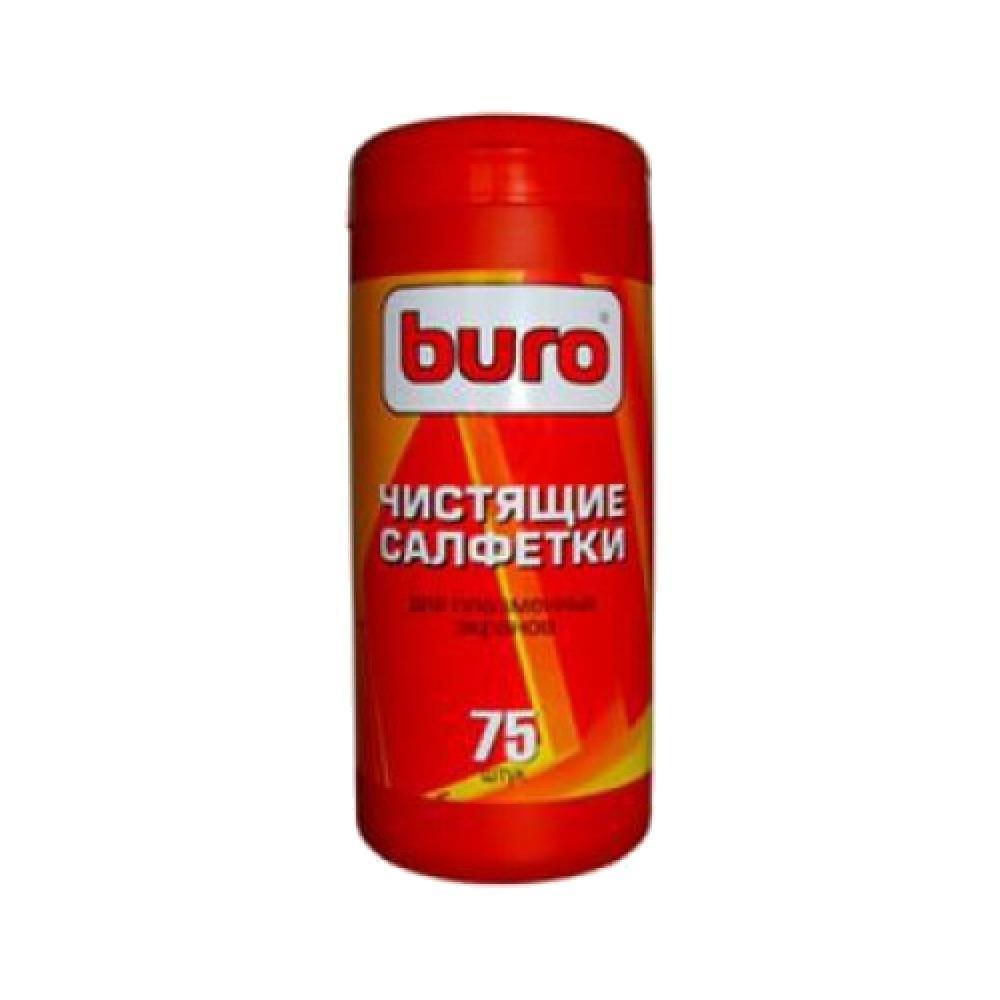 Салфетки чистящие для экранов плазменных телевизоров Buro BU-Tpsm, 75 шт