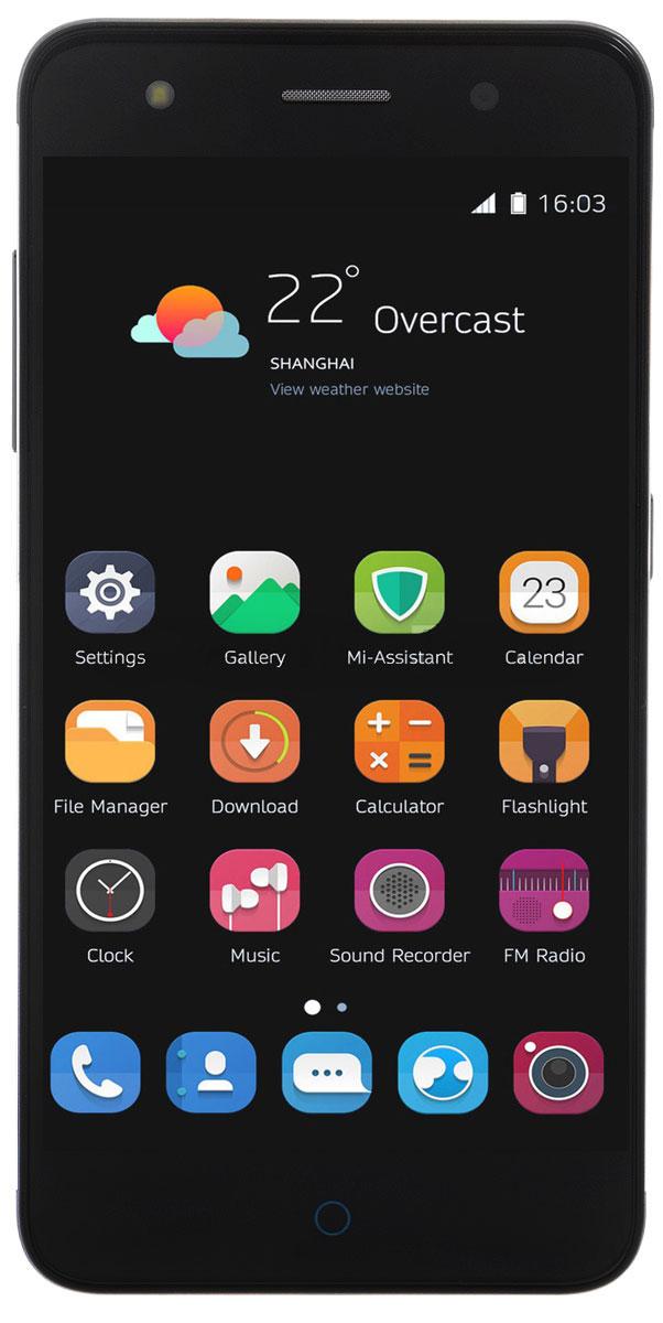 ZTE Blade V7 Lite, GreyZTE BLADE V7 LITE 4G GREYZTE Blade V7 Lite - стильный и недорогой смартфон с большим экраном 5, сканером отпечатков пальцев и двумя SIM-картами. Благодаря четырехъядерному процессору MediaTek MT6735P с тактовой частотой 1 ГГц смартфон работает чрезвычайно шустро. Пользователю обеспечены быстрый запуск и уверенная работа практически любых приложений, а также плавное воспроизведение видео. Смартфон имеет 5-дюймовый дисплей с разрешением 1280х720 пикселей. Он достаточно яркий, не вынуждает владельца напрягать глаза, обеспечивает четкое, разборчивое изображение и экономно расходует энергию аккумулятора. ZTE Blade V7 Lite оснащен двумя камерами - основной и фронтальной. Основная предназначена для фото- и видеосъемки, для этого у нее есть 13-мегапиксельная матрица, автофокус и светодиодная вспышка, благодаря чему владелец может снимать фото и видео, которыми не стыдно поделиться с окружающими. Фронтальная 8- мегапиксельная камера предназначена для видеосвязи, также с ее помощью...