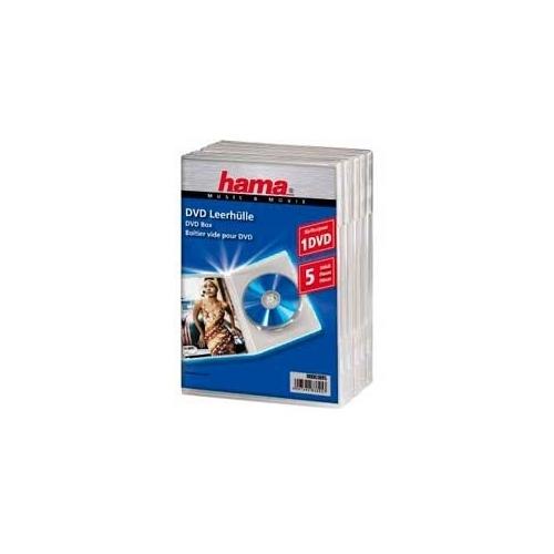Коробка для DVD Hama H-83895 Jewel Case ( 5 шт)