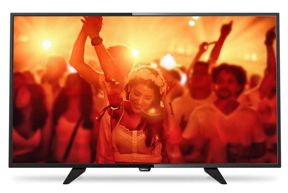 Philips 40PFT4101/60, Black телевизор40PFT4101/60Philips 40PFT4101/60 - сверхтонкий светодиодный Full HD LED-телевизор. Утонченные линии подчеркивают изящность дизайна Изящный, современный, лаконичный дизайн. Неудивительно, что ультратонкий силуэт телевизора Philips притягивает к себе взгляд - это идеальное решение, которое прекрасно дополнит любой интерьер. USB для воспроизведения мультимедийного контента Делитесь впечатлениями. Подключите USB-накопитель, цифровую камеру, MP3-плеер или другое мультимедийное устройство через USB-вход телевизора и смотрите фотографии, видео или слушайте музыку, используя удобного экранного обозревателя. Необычная, темная и невероятно надежная подставка. Прочная ультратонкая подставка Philips черного цвета подчеркивает элегантный дизайн телевизора. Несмотря на свой небольшой размер, она отличается непревзойденной устойчивостью. Технология Digital Crystal Clear, разработанная Philips, позволяет насладиться естественным изображением с...