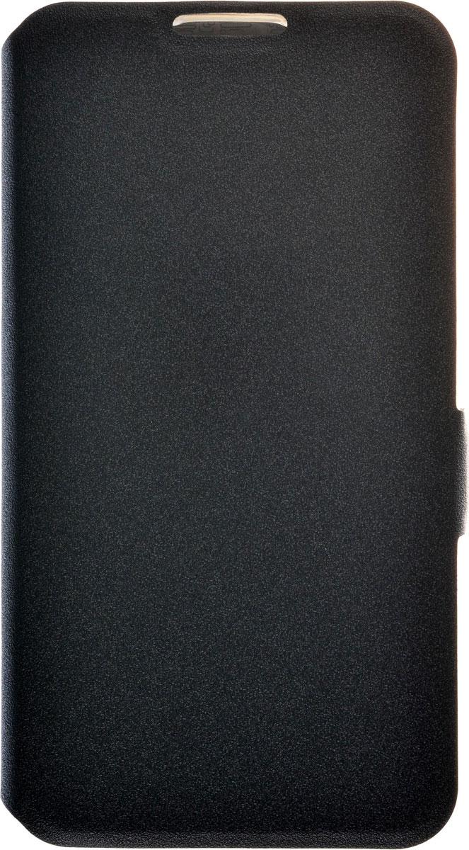Prime Book чехол для LG K4, Black2000000085975Чехол Prime Book для LG K4 выполнен из высококачественного поликарбоната и экокожи. Он обеспечивает надежную защиту корпуса и экрана смартфона и надолго сохраняет его привлекательный внешний вид. Чехол также обеспечивает свободный доступ ко всем разъемам и клавишам устройства.