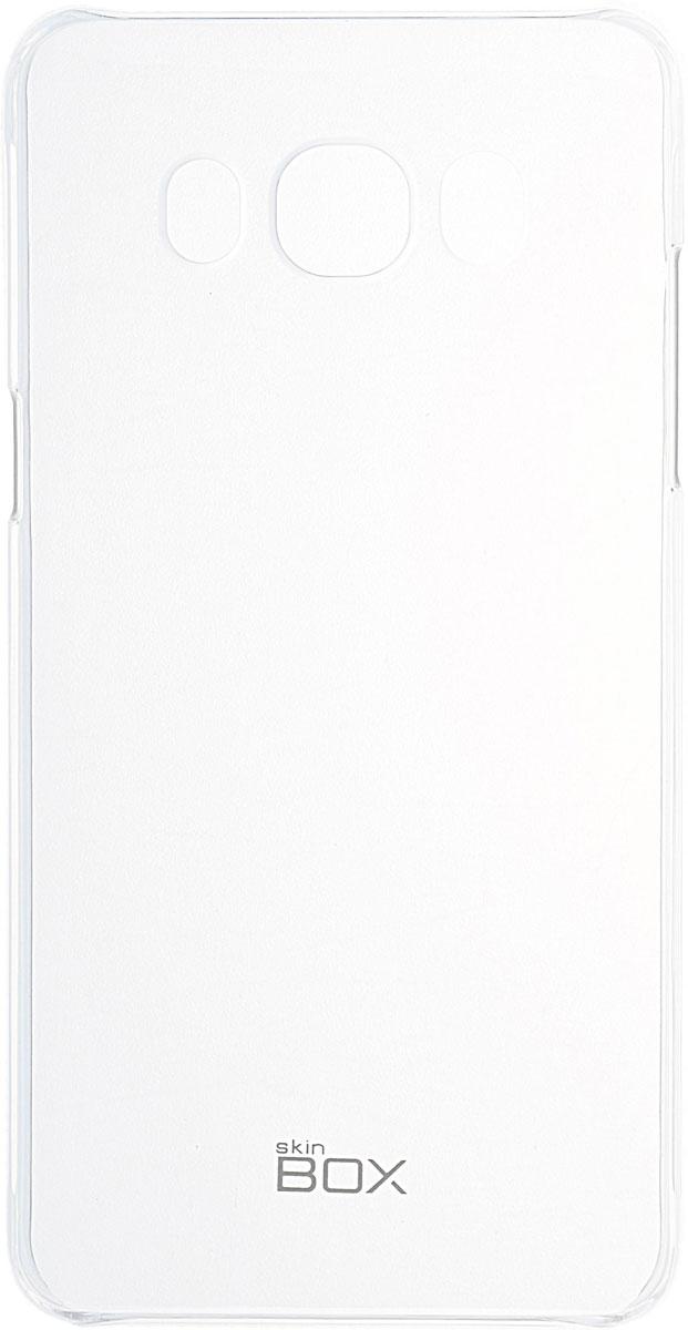 Skinbox 4People Crystal чехол для Samsung Galaxy J5 (2016), Transparent2000000091730Чехол Skinbox 4People Crystal для Samsung Galaxy J5 (2016) бережно и надежно защитит ваш смартфон от пыли, грязи, царапин и других повреждений. Выполнен из высококачественных материалов, плотно прилегает и не скользит в руках. Чехол оставляет свободным доступ ко всем разъемам и кнопкам устройства.