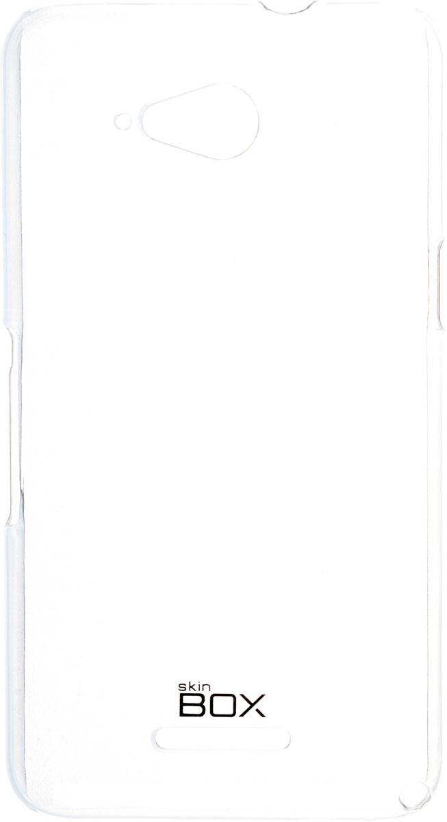 Skinbox 4People Crystal чехол для Sony Xperia E4g, Transparent2000000091624Чехол Skinbox 4People Crystal для Sony Xperia E4g бережно и надежно защитит ваш смартфон от пыли, грязи, царапин и других повреждений. Выполнен из высококачественных материалов, плотно прилегает и не скользит в руках. Чехол оставляет свободным доступ ко всем разъемам и кнопкам устройства.
