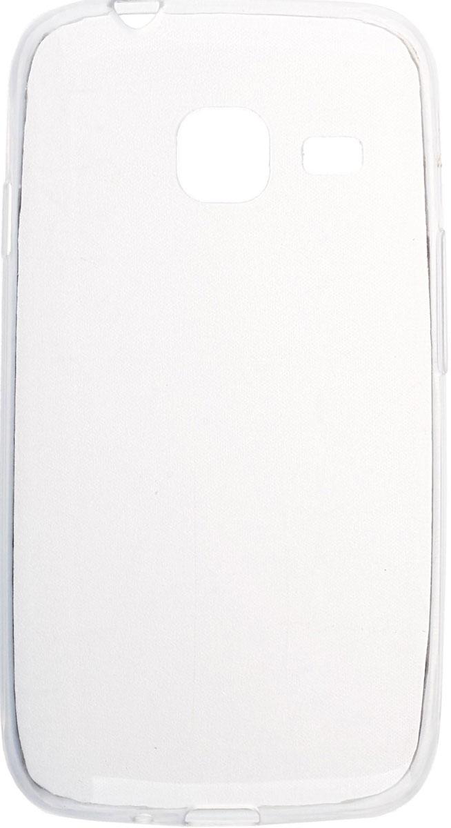 Skinbox 4People Slim Silicone чехол для Samsung Galaxy J1 mini (2016), Transparent2000000090795Чехол-накладка Skinbox 4People Slim Silicone для Samsung Galaxy J1 mini (2016) обеспечивает надежную защиту корпуса смартфона от механических повреждений и надолго сохраняет его привлекательный внешний вид. Накладка выполнена из высококачественного силикона, плотно прилегает и не скользит в руках. Чехол также обеспечивает свободный доступ ко всем разъемам и клавишам устройства.
