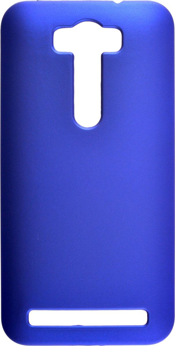 Skinbox 4People чехол для Asus Zenfone 2 Laser ZE500KL/ZE500KG, Blue2000000083674Чехол-накладка Skinbox 4People для Asus Zenfone 2 Laser ZE500KL/ZE500KG бережно и надежно защитит ваш смартфон от пыли, грязи, царапин и других повреждений. Выполнен из высококачественного поликарбоната, плотно прилегает и не скользит в руках. Чехол-накладка оставляет свободным доступ ко всем разъемам и кнопкам устройства.