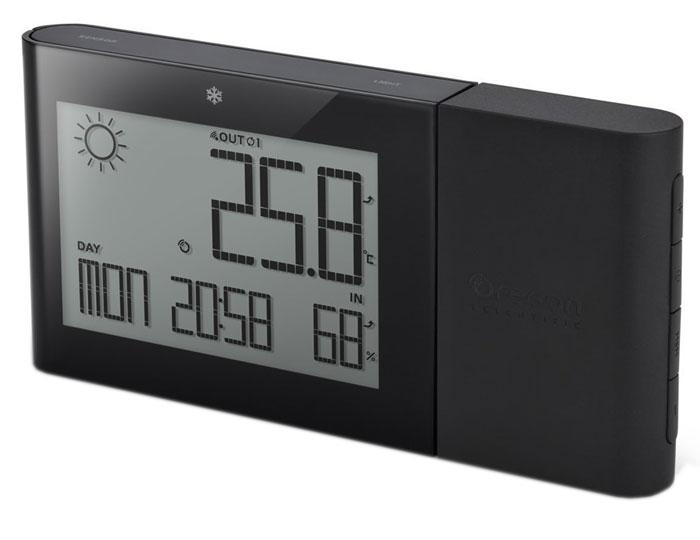 Oregon Scientific BAR268HG, Black погодная станцияBAR268HG-bМетеостанция Oregon Scientific BAR268HG с функцией прогноза погоды на ближайшие 12-24 часа. Измеряет комнатную температуру и влажность, а так же измеряет наружную температуру и влажность с индикатором тенденции изменений (стрелочный индикатор: рост, стабильно, спад). Имеет память для сохранения мин / макс значений комнатной / наружной температуры / влажности в течении суток. Отображает Фазы Луны и предупредит о заморозках индикатором встроенным в корпус устройства. Дополнительно реализованы функции часов и календаря.