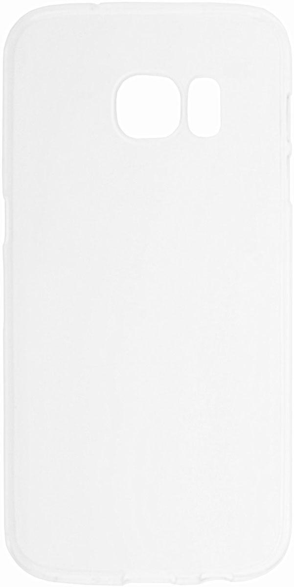 Skinbox Slim Silicone чехол для Samsung Galaxy S7, Transparent2000000088419Чехол-накладка Skinbox Slim Silicone для Samsung Galaxy S7 обеспечивает надежную защиту корпуса смартфона от механических повреждений и надолго сохраняет его привлекательный внешний вид. Накладка выполнена из высококачественного материала, плотно прилегает и не скользит в руках. Чехол также обеспечивает свободный доступ ко всем разъемам и клавишам устройства.