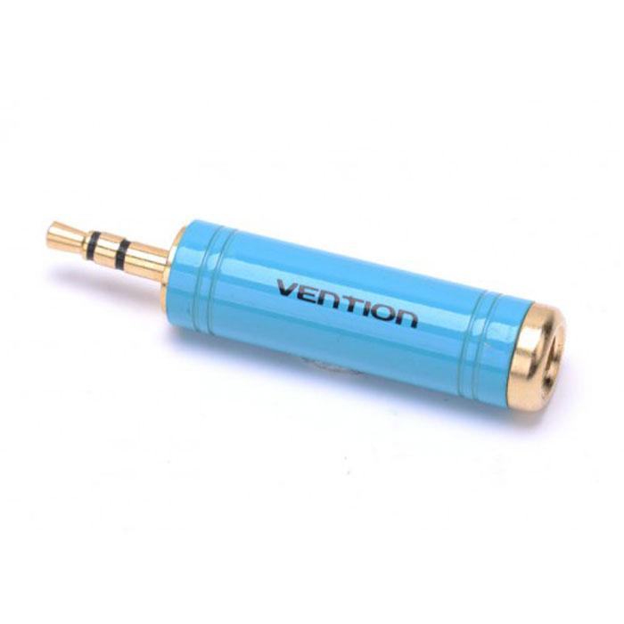 Vention Jack 3.5 мм/6.35 мм переходникVAB-S04-LVention Jack 3.5 mm-6.35 mm - переходник, предназначенный для передачи аналоговых стереозвуковых сигналов из одного разъема в другой - между аудио-, звукозаписывающими, студийными устройствами, или их компонентами. Продукция соответствует следующим сертификатам: RoHS, CE, FCC, TIA, ISO. Рабочая температура: -40°C - 60°C Номинальный ток: AC - 5 A / 500 В; DC - 5 A / 250 В Выдерживает напряжение: 1000 В rms Интерфейс: стерео