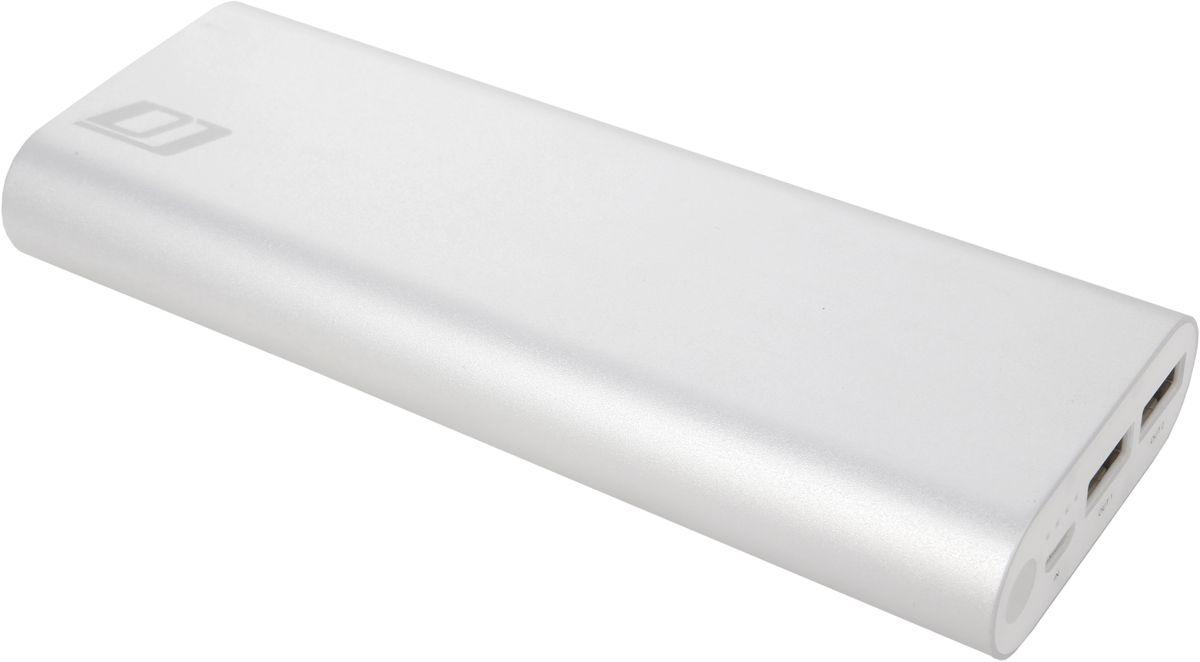 DigiCare Hydra DM201, Silver внешний аккумулятор (20100 мАч)PB-HDM201В DigiCare Hydra DM201 используются аккумуляторные ячейки сверхвысокой емкости производства LG. Благодаря этому, при тех же габаритах и весе Hydra DP201 обеспечивает на 30% большую емкость, а это – полторы-две лишние полные зарядки крупного смартфона. Внешний аккумулятор Digicare Hydra DP201 подойдет для зарядки практически всех мобильных устройств – смартфонов и планшетов, плееров и цифровых камер.Как и во всех аккумуляторах DigiCare серии Hydra, в модели DM201 реализована функция Smart charge -аккумулятор сам определяет подключенное к нему устройство и обеспечивает максимальный ток зарядки. Больше не будет странных ситуаций, когда аккумулятор с гордой надписью 2.4А отдает вашему устройству меньше одного ампера.
