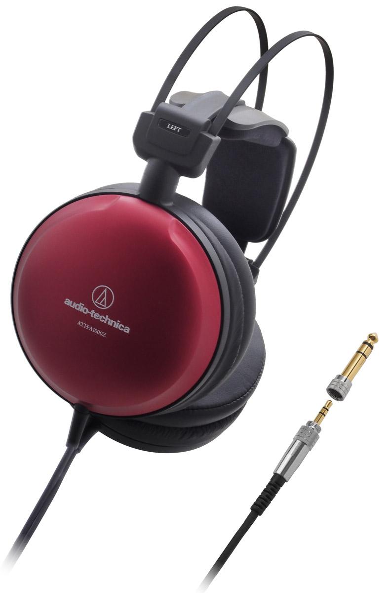 Audio-Technica ATH-A1000Z наушники15118421ATH-A1000Z – наушники нового поколения серии Art Monitor закрытых Hi-Fi-наушников Audio-Technica. Модель обеспечивает чистейший аудиофильский звук непревзойдённого качества. Специально разработанные 53-миллиметровые драйверы и система двойного демпфирования воздушных колебаний позволяют получить отличный звук на исключительно широком частотном диапазоне, а также глубокие басы.Ручная японская сборкаБольшие драйверы диаметром 53 мм обеспечивают премиальное Hi-Fi-звучаниеЛёгкий алюминиевый корпус с красной отделкойИнновационное 3D-крепление для комфортного ношения в течение длительного времениМягкие амбушюры наивысшего качества с великолепной шумоизоляциейРасширенный частотный диапазон, глубокие басыДвусторонний 4-жильный кабель с независимым заземлением для правого и левого каналовЛёгкий и при этом жёсткий магниевый дефлектор уменьшает нежелательные вибрации