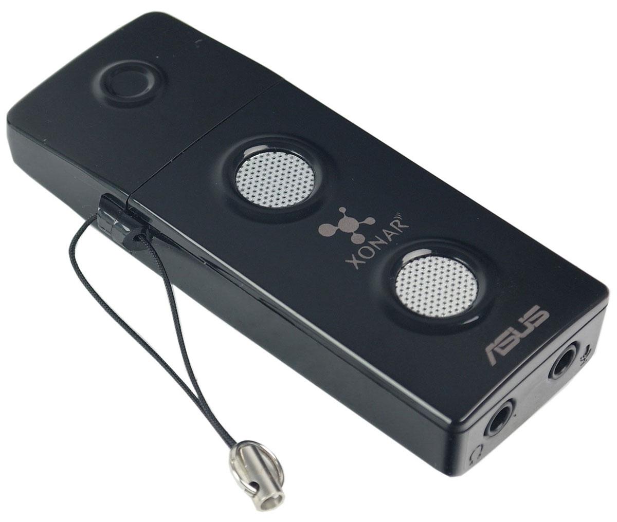 ASUS Xonar U3 звуковая картаXONAR U3Звуковая карта Asus Xonar U3 - решение класса Hi-Fi для вашего ноутбука Портативная звуковая карта Xonar U3 поможет улучшить звук вашего ноутбука при прослушивании музыки, просмотре фильмов, в играх и при использовании IP-телефонии. Усилитель наушников Настраиваемый усилитель поможет максимально раскрыть потенциал ваших наушников. Dolby Home Theater Качественное пространственное звучание Asus Xonar U3 представляет собой портативную звуковую карту с интерфейсом USB, которая поддерживает технологии Dolby, направленные на повышение качества звука. GX2.5 Реалистичные звуковые эффекты. Аудиопроцессор с возможностью применения до 128 различных звуковых эффектов одновременно обеспечивает реалистичное пространственное звучание. Звук класса Hi-Fi Кристальная чистота. Благодаря эксклюзивной технологии Hyper Grounding обеспечивается отделение аудиосигнала от источников шума. Съемный колпачок Вы...