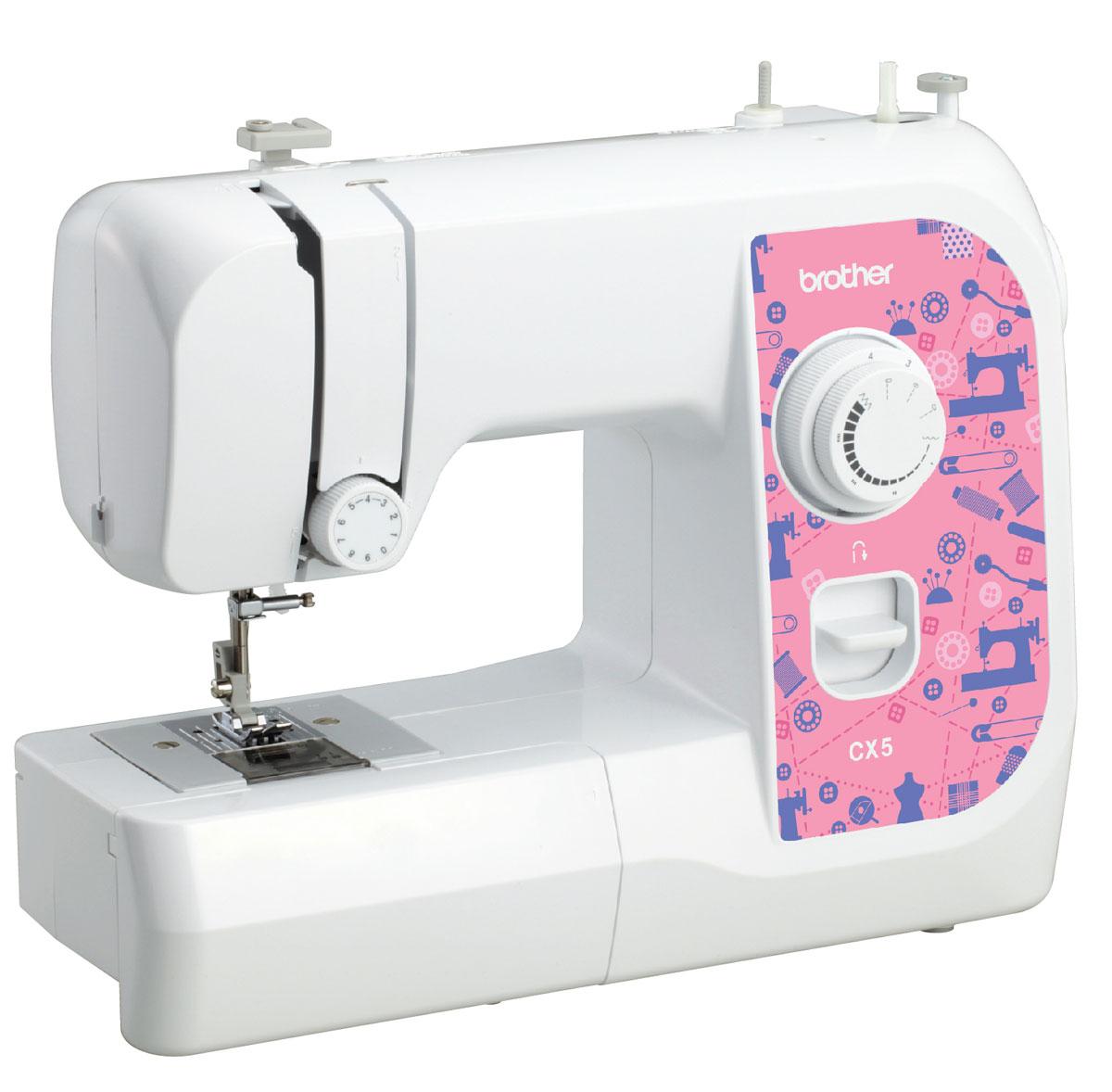Brother CX5 швейная машинаCX5Машина Brother CX5 идеально подходит для выполнения основных швейных операций при изготовлении и ремонте одежды. Эта надежная машина имеет традиционный набор функций, который необходим для шитья.
