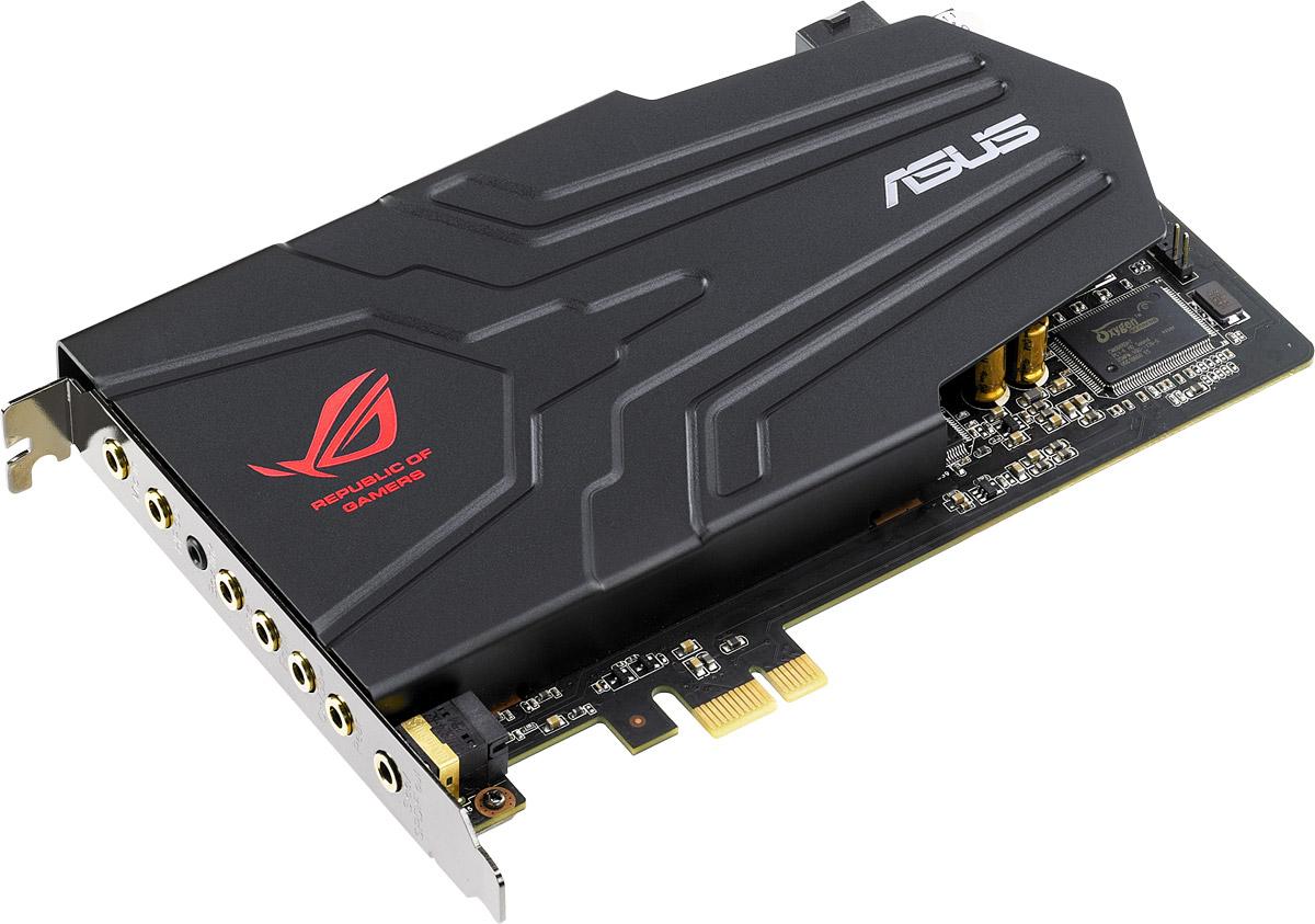 ASUS ROG Xonar Phoebus звуковая картаROG XONAR PHOEBUSНовая модель игровой звуковой карты Asus ROG Xonar Phoebus предлагает всем любителям компьютерных игр высочайшее качество звучания и точное позиционирование источников звука в пространстве. Отличное соотношение сигнал/шум, технология шумоподавления ROG Command, внешний блок управления – эти и другие особенности данной модели делают ее настоящим подарком для всех увлеченных геймеров! Хотите насладиться мощным и чистым звуком в игре и слышать даже малейшие оттенки звучания, чтобы ориентироваться в каждом игровом эпизоде лучше своего противника? Все это обеспечит геймерская звуковая карта ROG Xonar Phoebus от разработчиков серии аудиорешений ASUS Xonar, обладателей престижных наград крупнейшей выставки потребительской электроники CES. В устройстве используются только высококачественные компоненты. Также реализован ряд инновационных технологий, таких как ROG Command, Hyper Grounding, Dolby Home Theater V4 для качественного воспроизведения игрового звука. Кроме...