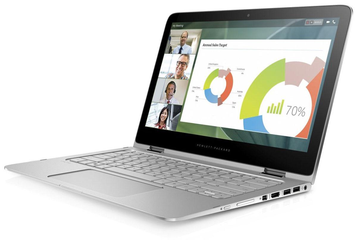 HP Spectre Pro x360 G2, Metallic Grey (V1B02EA)V1B02EAТонкий ноутбук-трансформер HP Spectre Pro x360 поддерживает четыре режима работы и отличается элегантным корпусом с возможностью разворота дисплея на 360°. Он разработан специально для бизнес- пользователей и оснащен аккумулятором увеличенной емкости для долгой работы без подзарядки и процессорами Intel 6-го поколения с дополнительной поддержкой технологии vPro. Благодаря прочному и тонкому корпусу (15,4 мм) из алюминия этот невероятно легкий ноутбук выглядит изящно и элегантно. Он оснащается сенсорным дисплеем Full HD или QHD диагональю 33,8 см (13,3) и поддерживает четыре режима работы, между которыми легко переключаться. Этот ноутбук с экраном диагональю 33,8 см (13,3) станет вашим незаменимым помощником на протяжении всего дня, куда бы вы ни отправились. Разверните дисплей на 360 градусов, чтобы использовать ноутбук как планшет, или используйте режимы стенд и планшет-палатка. Надежная защита важных данных Защитите диски с...