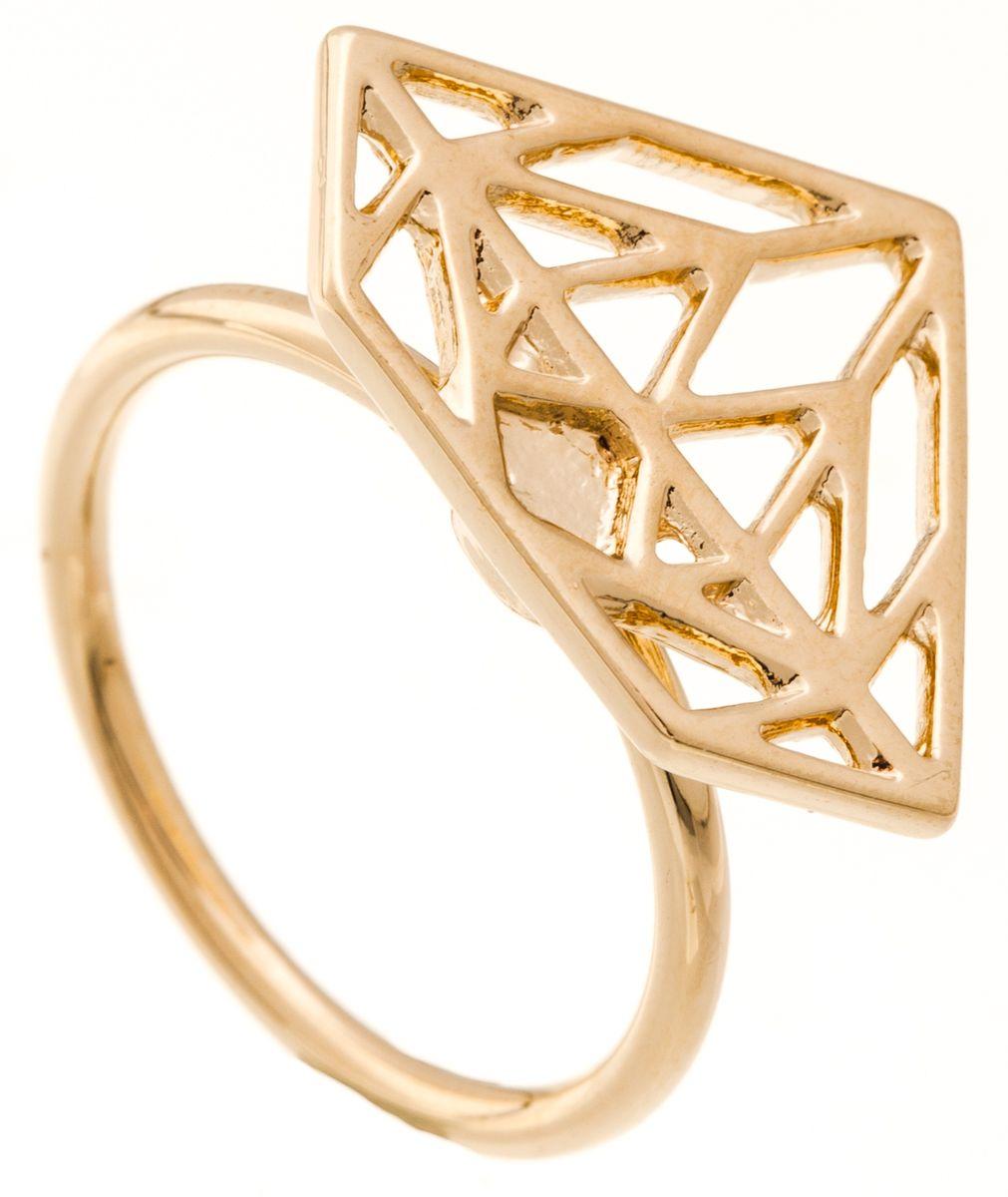Кольцо Jenavi Young 2. Эпик, цвет: золотой. f661p090. Размер 18f661p090Изящное кольцо Jenavi из коллекции Young 2. Эпик изготовлено из ювелирного сплава с покрытием из позолоты. Изделие выполнено в необычном дизайне в форме треугольника. Стильное кольцо придаст вашему образу изюминку, подчеркнет индивидуальность.