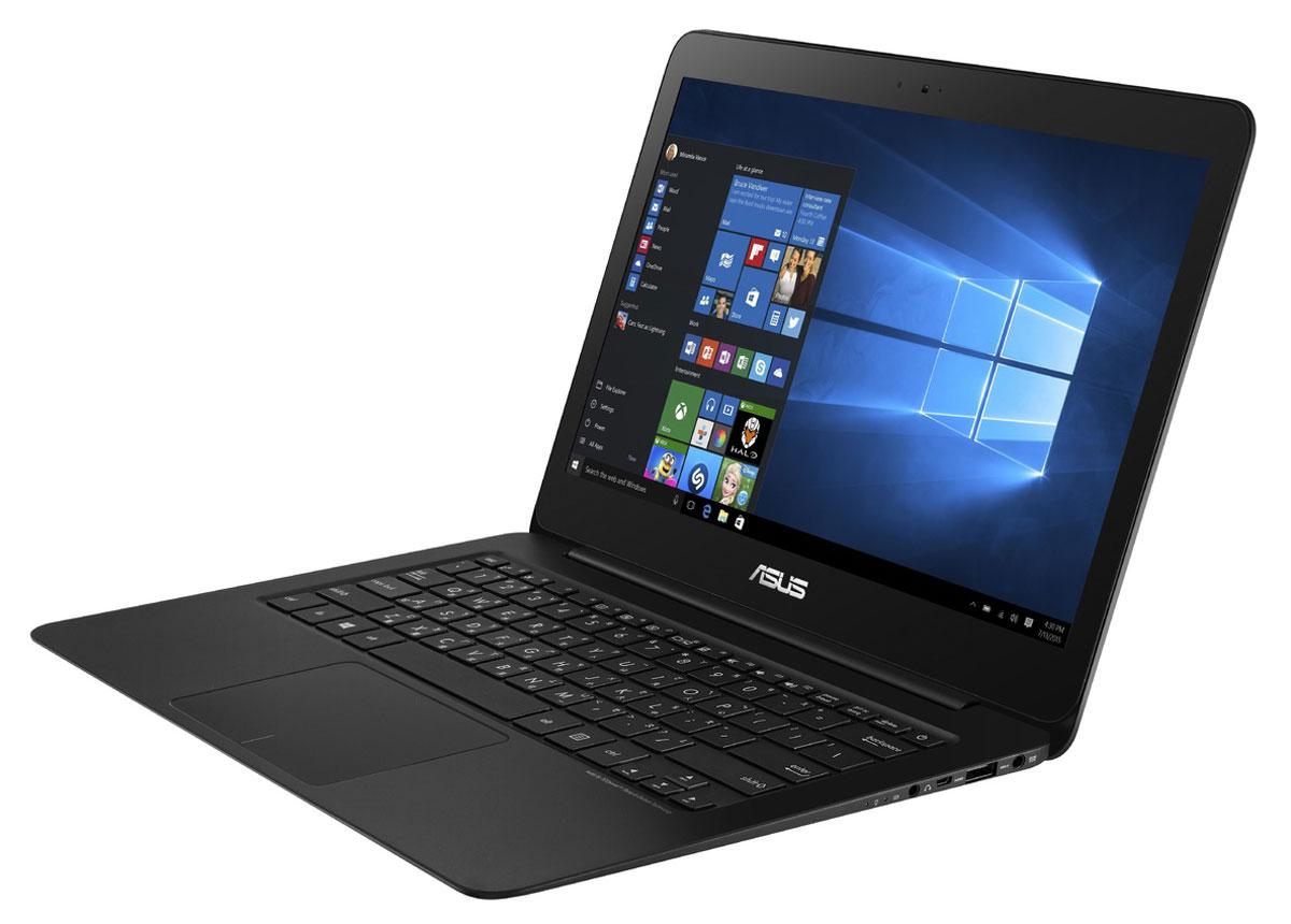 ASUS ZenBook UX305CA, Black (UX305CA-DQ124T)UX305CA-DQ124TAsus Zenbook UX305CA - это ультратонкий 13.3-дюймовый ноутбук с оригинальным дизайном в тонком алюминиевом корпусе. Выполненный из цельного блока алюминия, корпус ультрабука Zenbook UX305CA является изящным и практичным одновременно. Сужающаяся форма способствует комфортному положению рук пользователя, а великолепная отделка моментально выделяет его среди конкурентов. В аппаратную конфигурацию Zenbook UX305 входит процессор Intel Core, 8 ГБ оперативной памяти и твердотельный накопитель емкостью 256 ГБ. С таким техническим оснащением этот ультрабук готов к любой задаче, независимо от степени ее сложности. Аккумулятор высокой емкости и интеллектуальная система управления энергопотреблением обеспечивают длительное время автономной работы – до 10 часов при включенном модуле Wi-Fi. После напряженного рабочего дня у этого ультрабука будет еще достаточно заряда, чтобы дать пользователю отдохнуть за развлекательными приложениями. ...