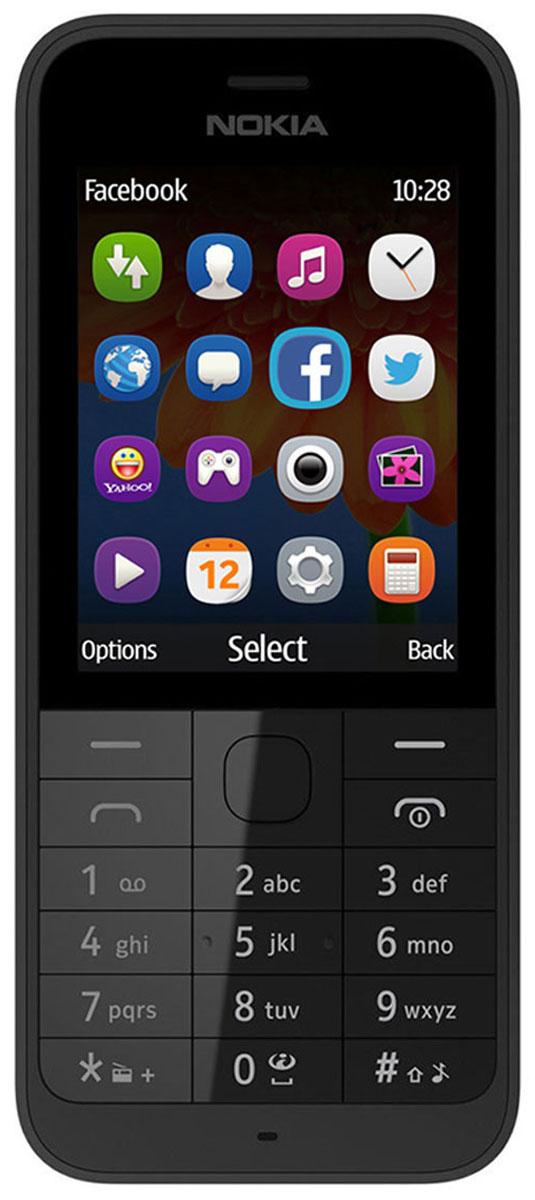 Nokia 230 SS, Dark Silver Gray