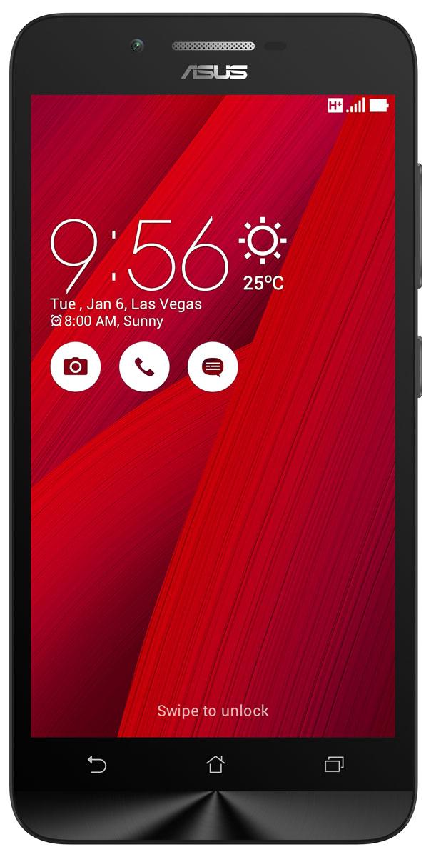 ASUS ZenFone Go ZC500TG, Red (90AZ00V3-M00490)90AZ00V3-M00490Смартфон ZenFone Go (ZC500TG) выполнен в изящном корпусе. Обладая эргономичной формой, он украшен традиционным для мобильных устройств ASUS узором из концентрических окружностей с углублениями размером 0,13 мм. Четырехъядерный процессор: Мощный процессор MediaTek обеспечивает высокую производительность ZenFone Go в многозадачном режиме. Впечатляющее изображение: ZenFone Go оснащается IPS-дисплеем с разрешением 1280х720 пикселей и пиксельной плотностью 294 пикселя на дюйм. Изображение на его экране отличается высокой яркостью, поразительной четкостью и насыщенными цветами. Высококачественная камера: Для съемки ярких фотографий данный смартфон оснащается тыловой камерой с высоким разрешением. Ловите красивые моменты жизни вместе с ZenFone Go! Поддержка двух SIM-карт: ZenFone Go оснащается двумя слотами для SIM-карт, что позволяет использовать одновременно два телефонных номера, например рабочий и личный....