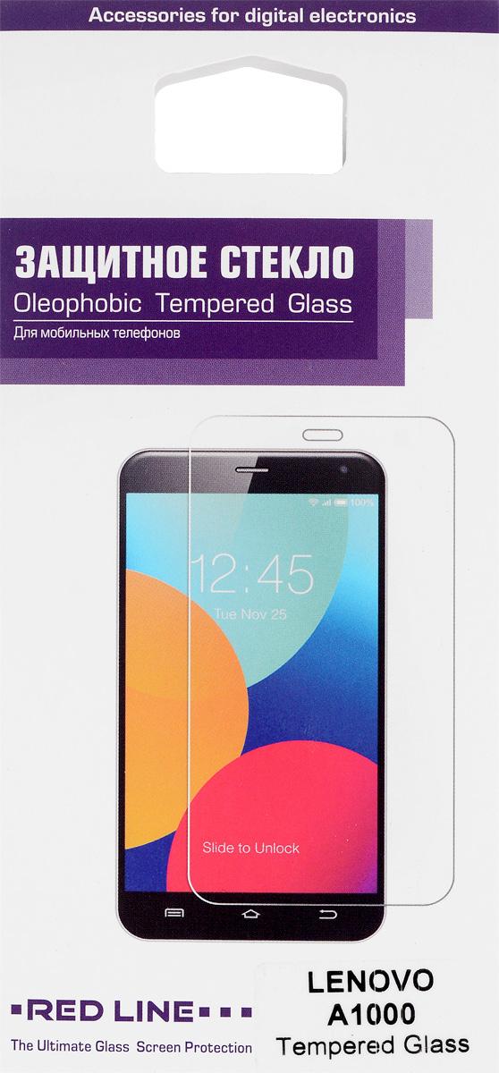 Red Line защитное стекло для Lenovo A1000УТ000007990Защитное стекло Red Line для Lenovo A1000 предназначено для защиты поверхности экрана от царапин, потертостей, отпечатков пальцев и прочих следов механического воздействия. Оно имеет окаймляющую загнутую мембрану, а также олеофобное покрытие. Изделие изготовлено из закаленного стекла высшей категории, с высокой чувствительностью и сцеплением с экраном.