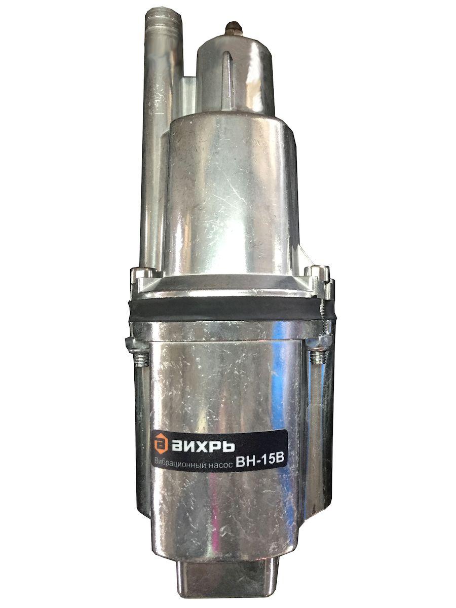 Вибрационный насос Вихрь ВН-15В68/8/2Напряжение питания - 220/50 В/Гц Степень защиты IPX8 Полезная мощность - 280Вт Максимальная высота подъема воды - 72 м Максимальная производительность - 18 л/мин Максимальная температура воды -+35°С Диаметр насоса - 100 мм Длина кабеля в зависимости от модели - 15 м Диаметр выходного отверстия - 3/4 дюйм